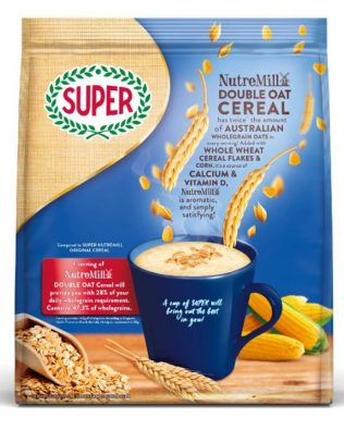 Super NutreMill 4 in 1 Cereal Double Oat 30G X 15 Sachets – 1675057