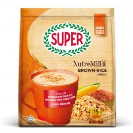 Super NutreMill 4 in 1 Cereal With Brown Rice 30G X 15 Sachets – 1675060