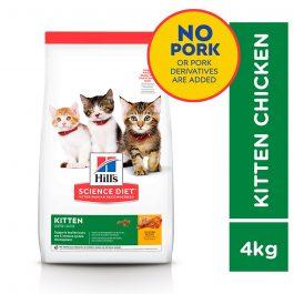 Hill's Science Diet Kitten Chicken Recipe 4kg – 10308HG