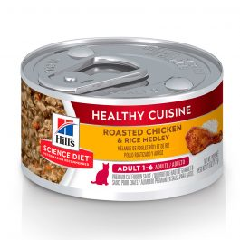 Hill's Science Diet Adult Healthy Cuisine Roasted Chicken & Rice Medley 79g – 10445