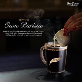 OLDTOWN Black Series Enrich Freezed Dried Instant Coffee 100g x 1 Jars