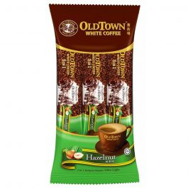 OLDTOWN White Coffee 3 in 1 Hazelnut Convenience Pack Instant Premix 38g x 3 sticks