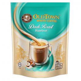 OLDTOWN White Coffee Dark Roast 3 in 1 Hazelnut Instant Premix White Coffee 25g x 10 sticks